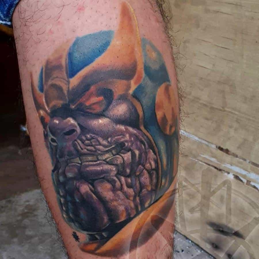 Portrait Thanos Tattoo K.la.k Mendoza