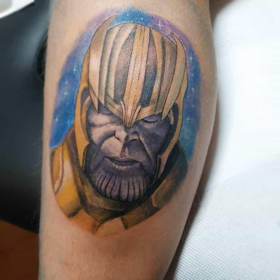 Portrait Thanos Tattoo Kachulachki