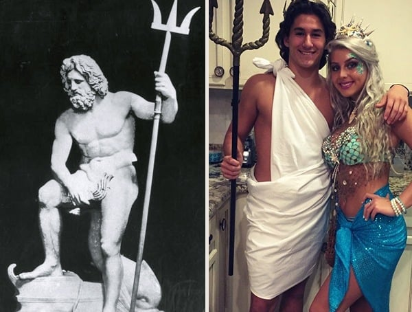 Poseidon Greek God Best Cool Halloween Costumes For Men