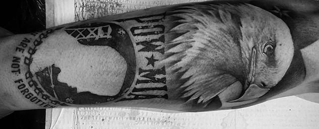Pow Mia Tattoo Designs For Men