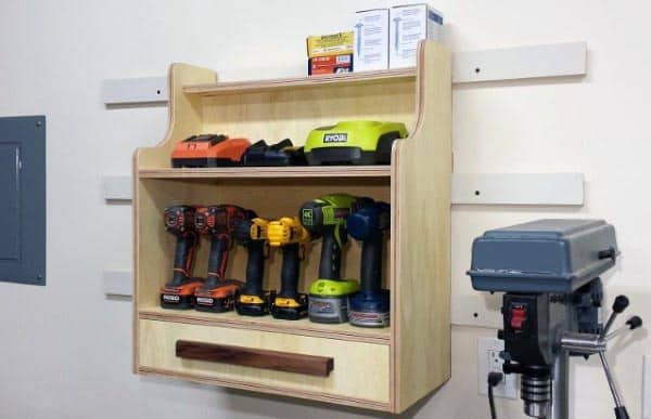 Power Tools Organizers And Storage Ideas