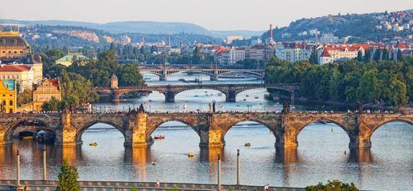 Prague City Czech Republic