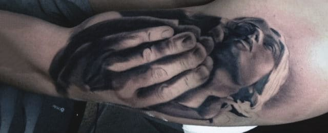 Top 63 Praying Hands Tattoo Ideas [2020 Inspiration Guide]