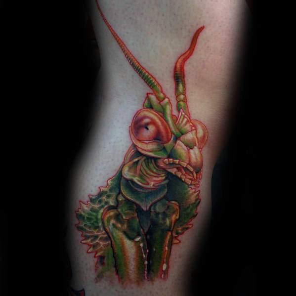 Praying Mantis Guys Tattoo Ideas