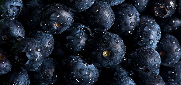 Pre Workout Snack Blueberries