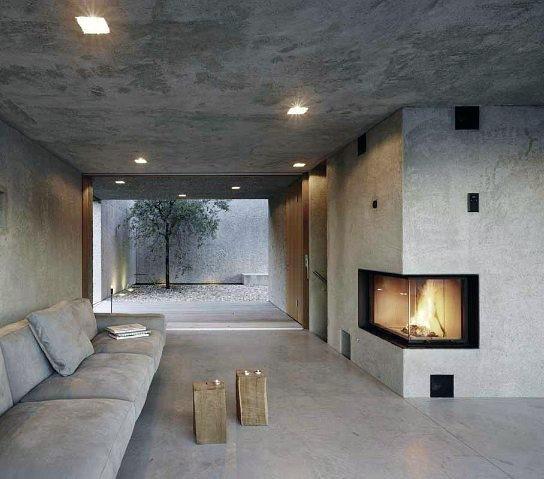 Precast Concrete Fireplace Design Fireplace Surrond