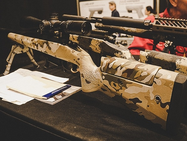 Precision Shooting Rifle With Multi Cam Finish