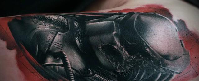 Predator Tattoo Designs For Men