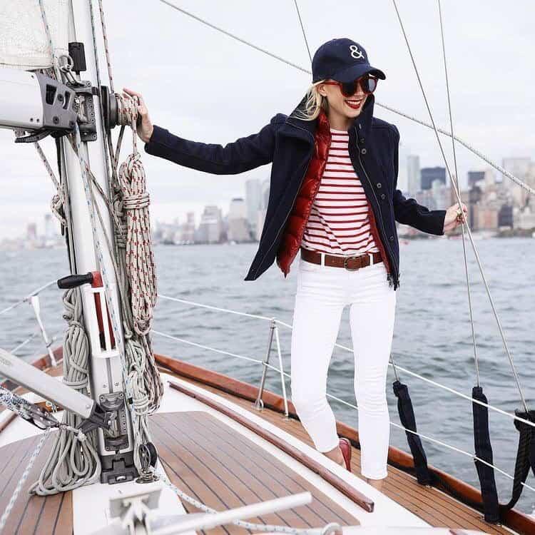 Preppry Fashion Nautical Fashion