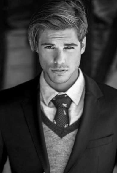Preppy Mens Hair Styles Medium