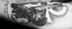 50 Prince Tattoo Designs For Men – Musician Ink Ideas