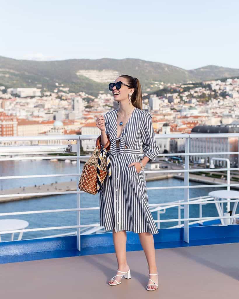 Princess Cruises Nautical Fashion