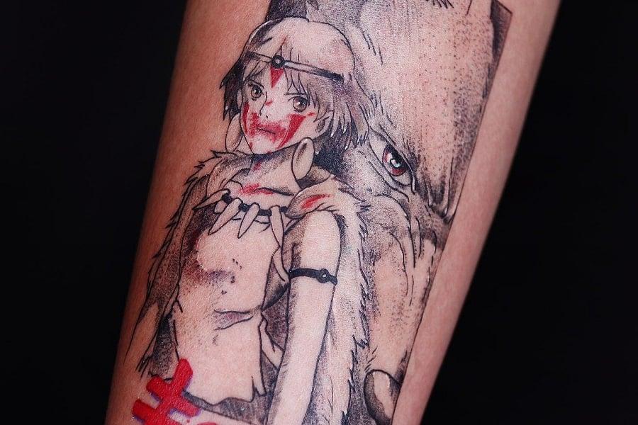 Princess Mononoke Tattoo @radnetwork Fi