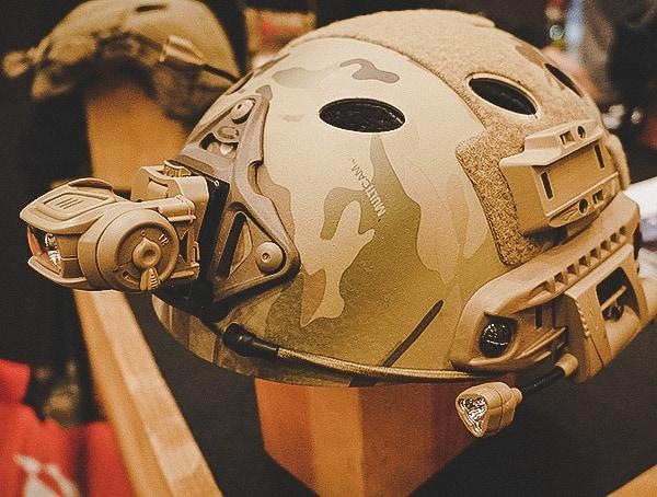 Princeton Tec Front Headlamp For Tactical Bump And Ballistic Helmets