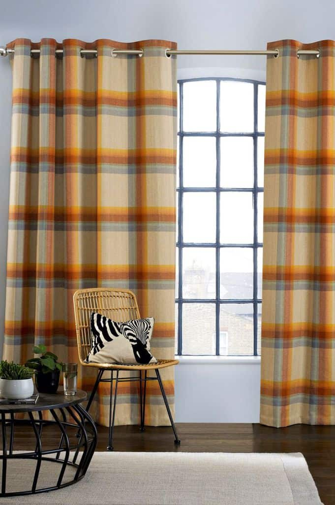 Prints And Patterns Living Room Curtain
