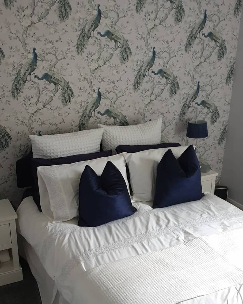 prints bedroom wallpaper ideas our_northlodge_haven