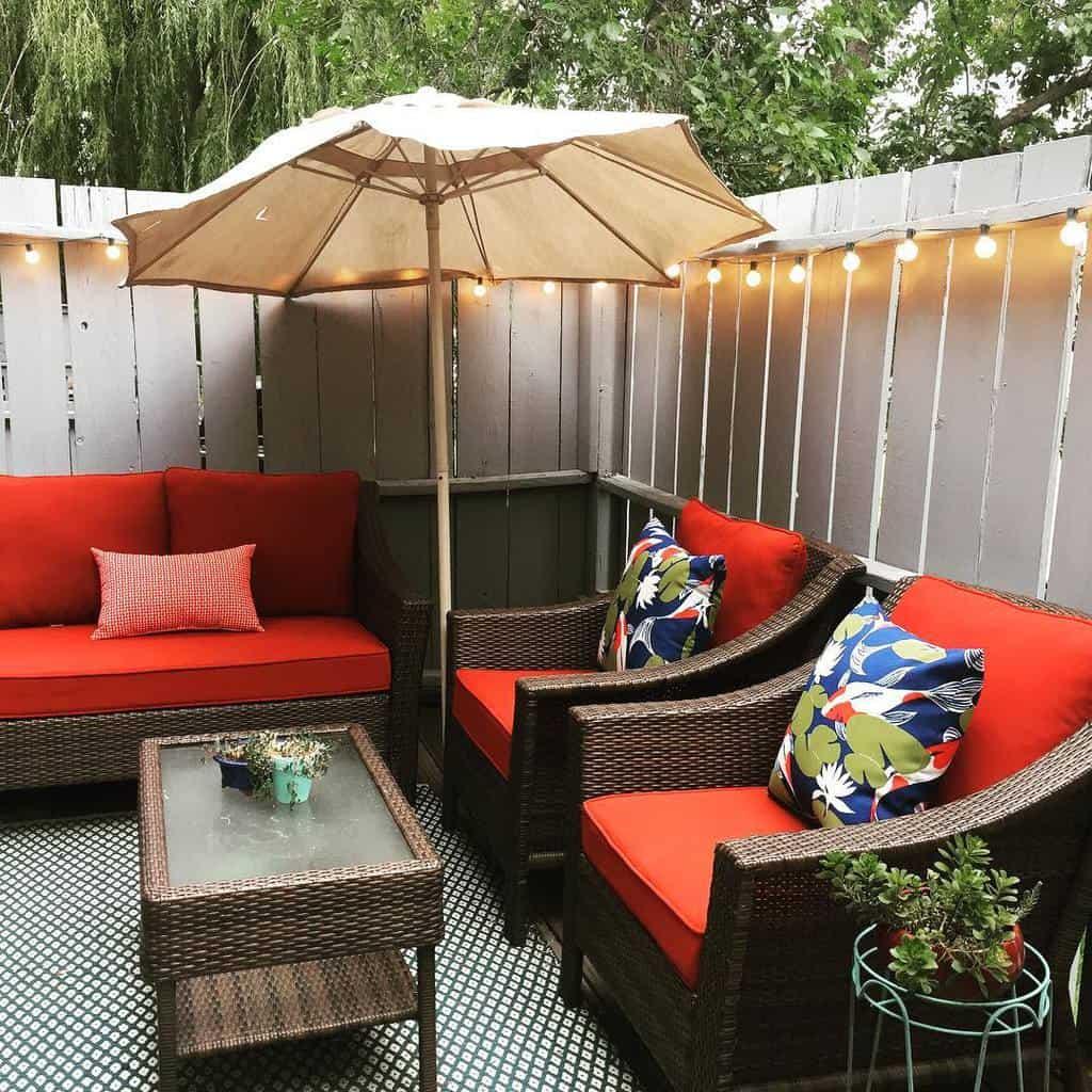 privacy screen apartment patio ideas boulderthrifter