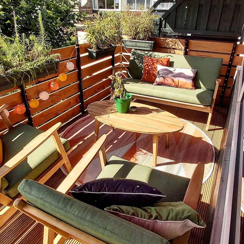 privacy screen apartment patio ideas keesje86