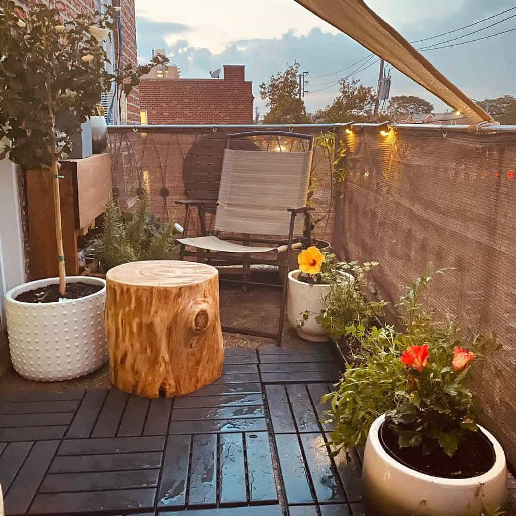 privacy screen apartment patio ideas ohlibeeshome