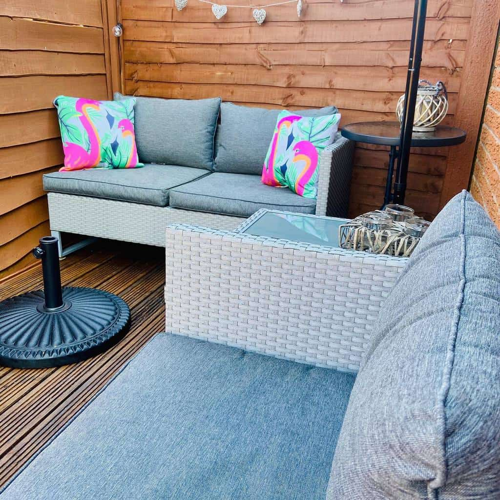 privacy screen apartment patio ideas our_cosylittlehouse