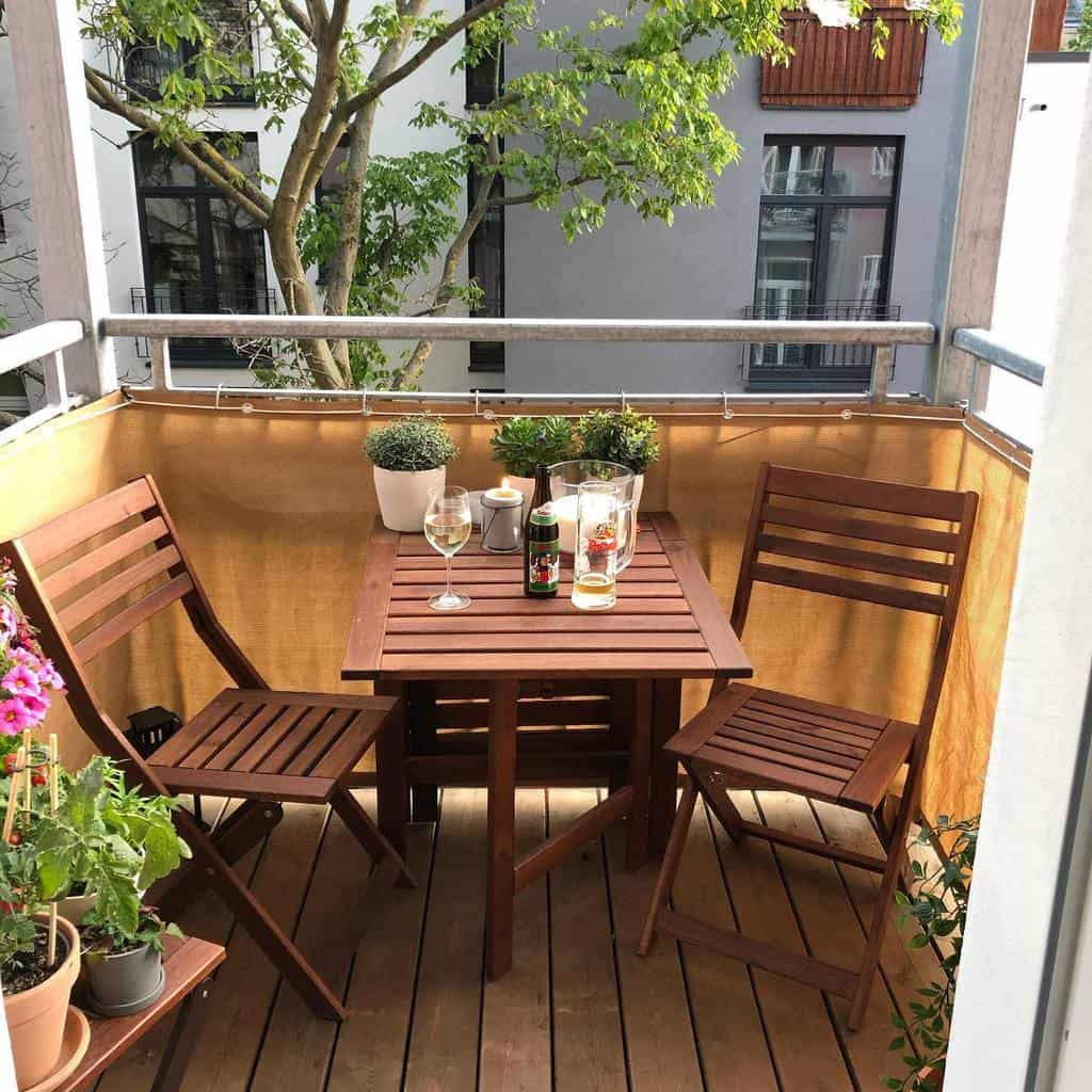 privacy screen apartment patio ideas theberlinhome