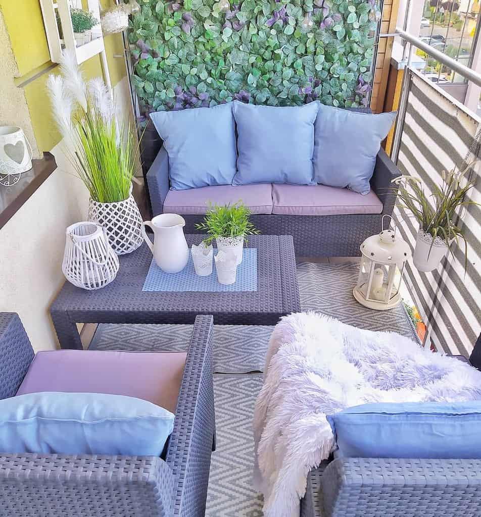 privacy screen apartment patio ideas wmorzuzakochana