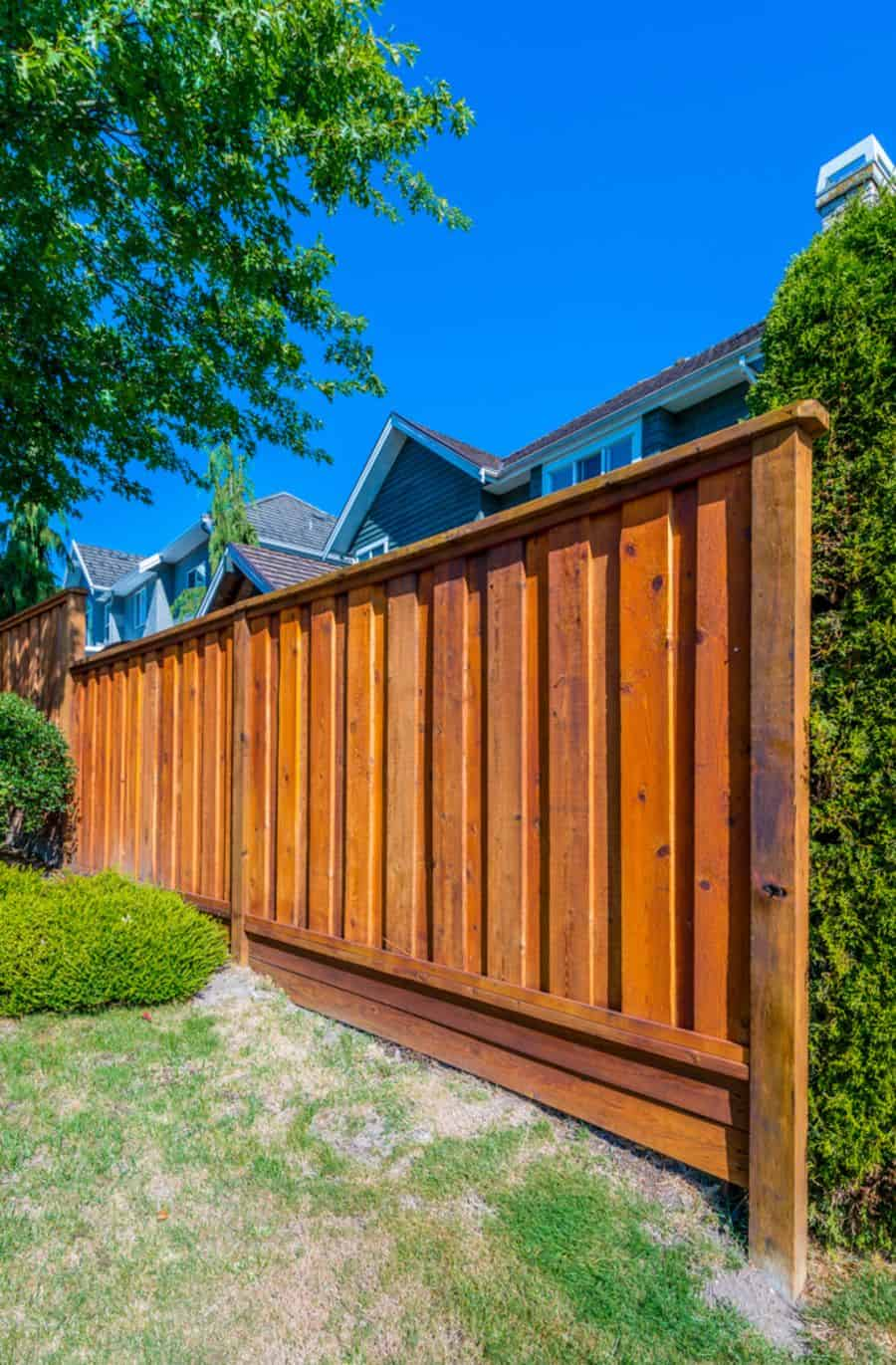 Privacy Wood Fence Ideas (1)