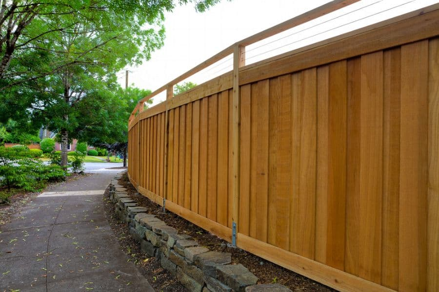 Privacy Wood Fence Ideas (6)