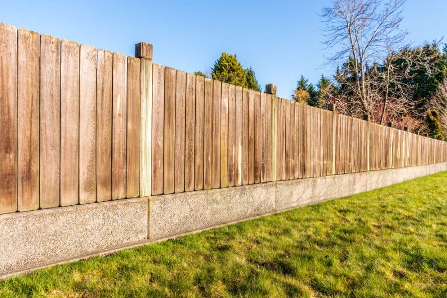Privacy Wood Fence Ideas (8)