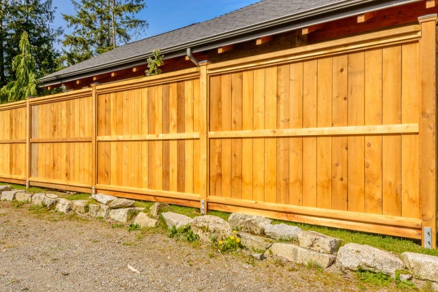 Privacy Wood Fence Ideas (9)