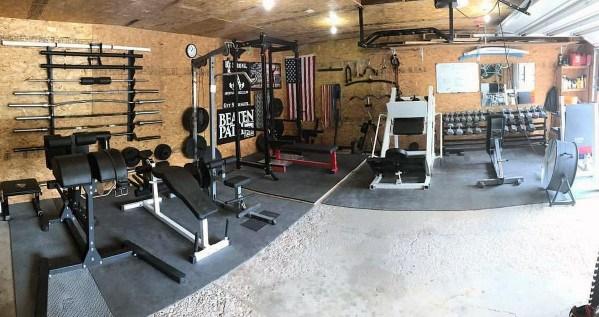 Private Garage Gym Ideas