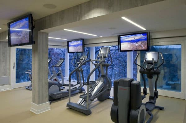 Private Home Gym Designs For Males