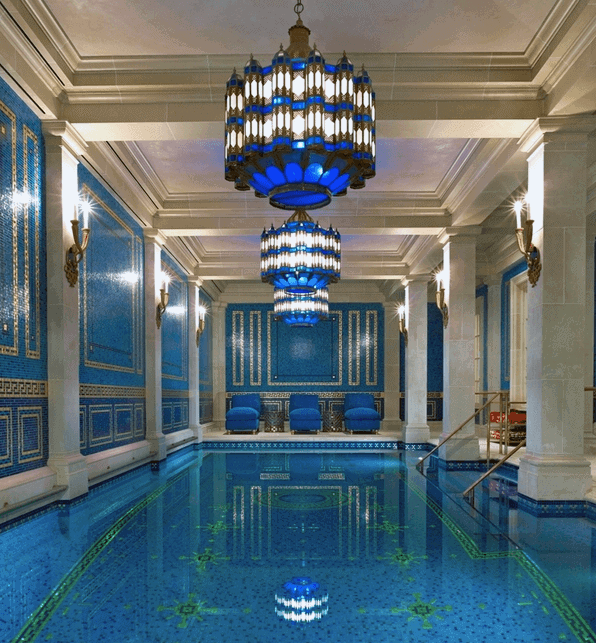 Private Home Swimming Pool Indoor Traditional Design