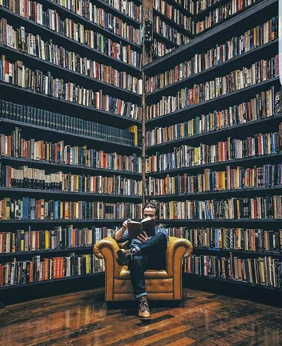 Private Reading Library Awesome Man Caves For Men