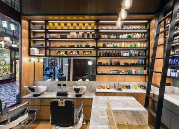 Product Display Ideas Barber Shop Designs