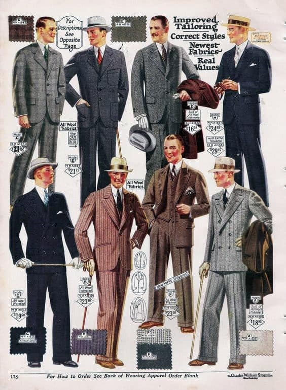 Professional Business Attire Suits From The 1950s Fashion Trends For Men