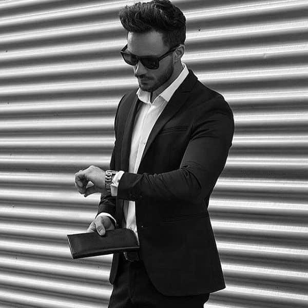 Professional Business Medium Long Hair Styles For Men