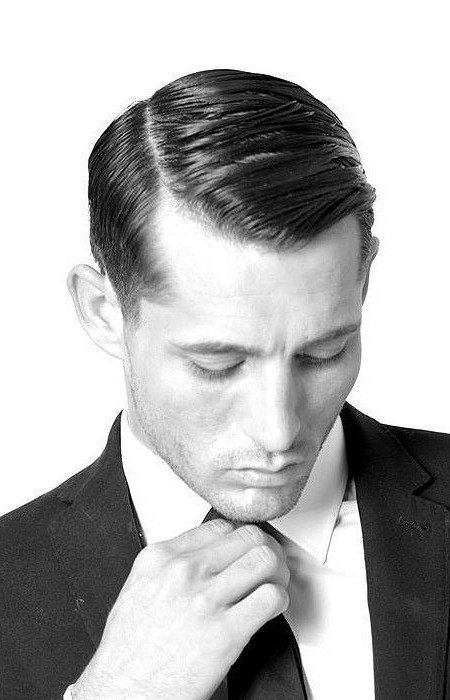 Professional Comb Over Hair For Businessmen