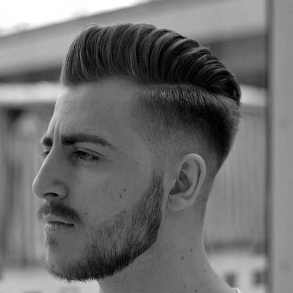 Professional Haircut Mens High Skin Fade