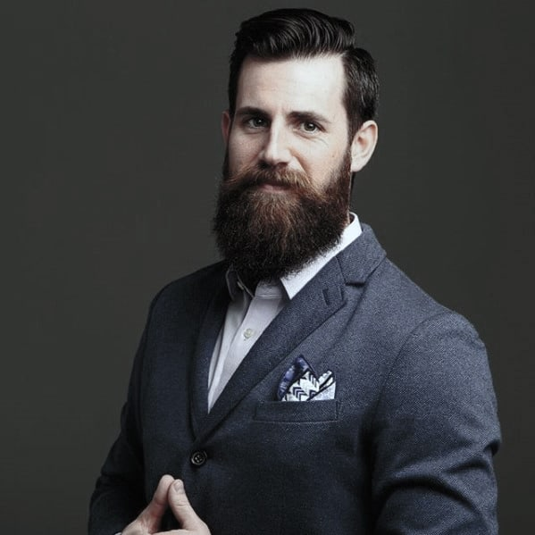 60 Professional Beard Styles For Men - Business Focused Facial Hair