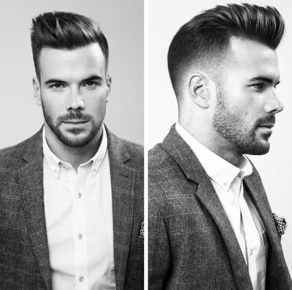 Professional Male Hairstyles For Short Hair