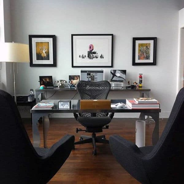 Home Office Decorating Ideas: 75 Small Home Office Ideas For Men