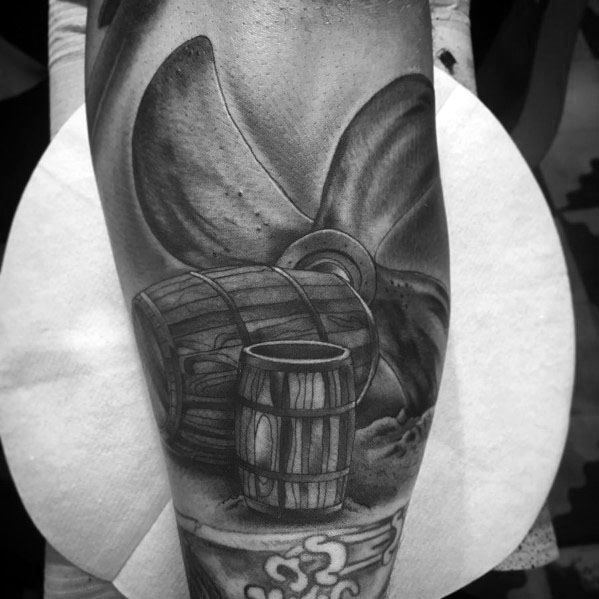 Propeller Tattoo Designs For Gentlemen