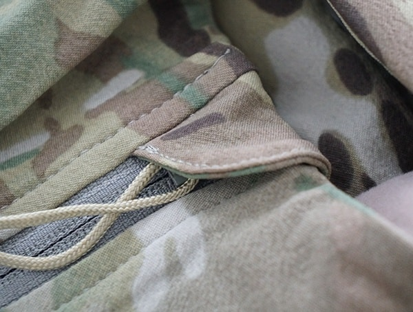 Protected Chest Upper Zipper Detail Mens Otte Gear Anorak Overwatch