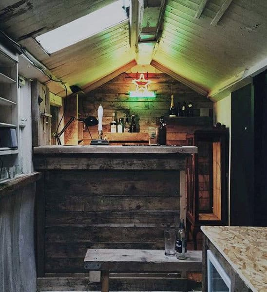 Pub Man Shed Bar Small Design Ideas