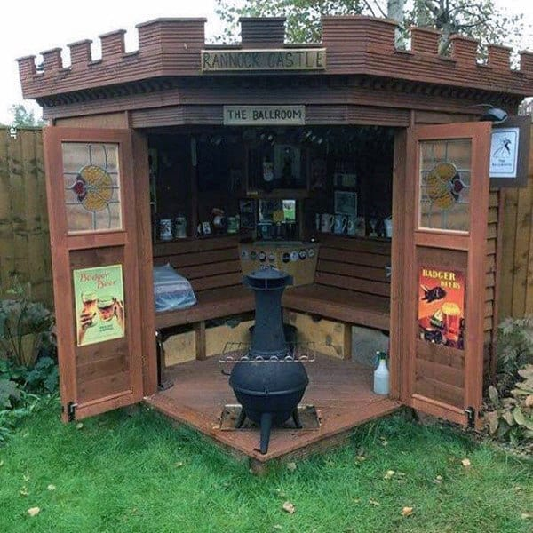 Pub Shed Backyard Bars Designs Barn
