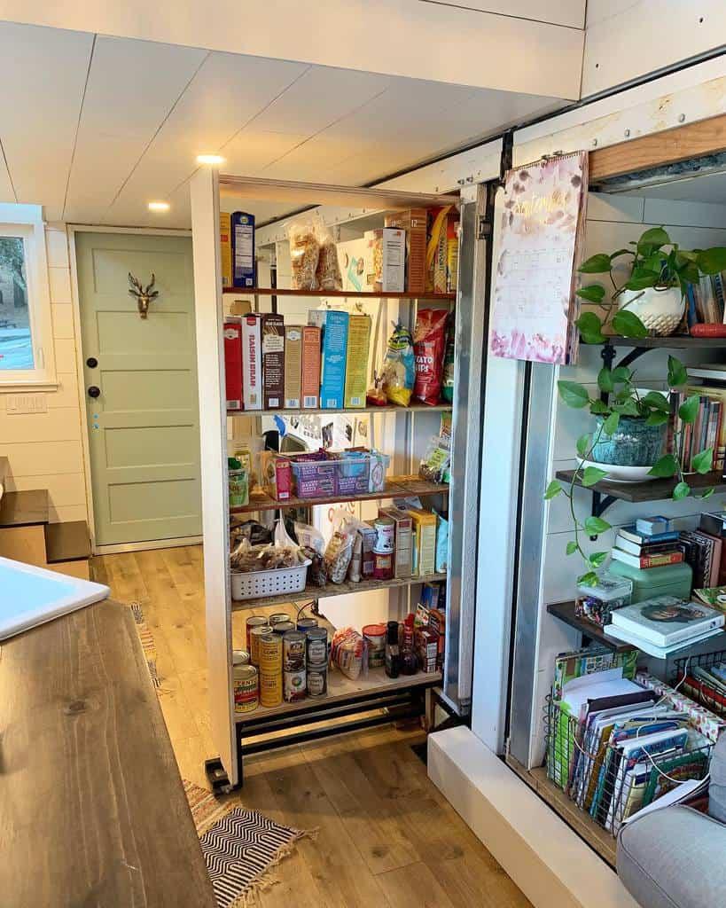 pull-out pantry organization ideas steinysgotiny