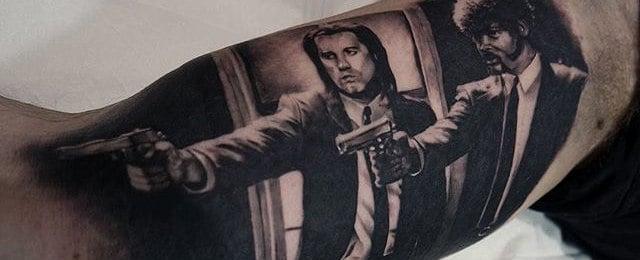 Pulp Fiction Tattoo Designs For Men
