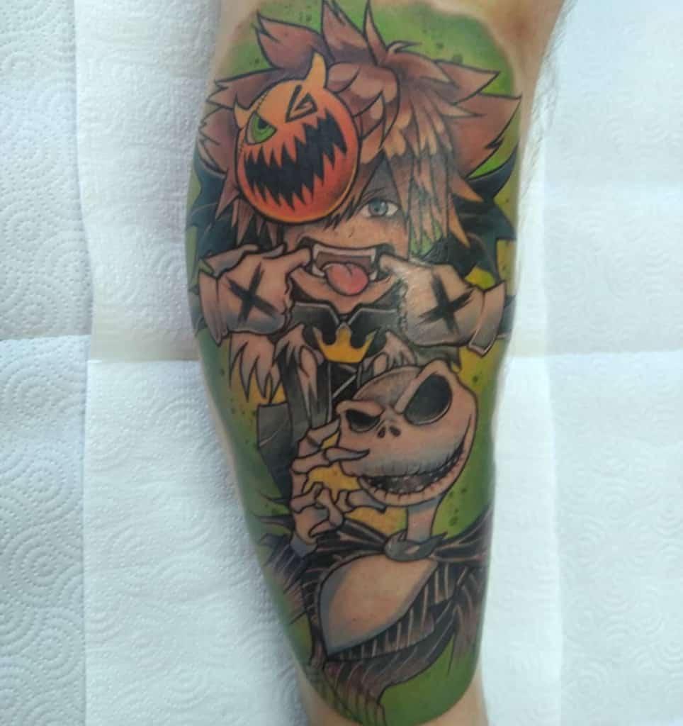 Pumpkin King Kingdom Heart Tattoo
