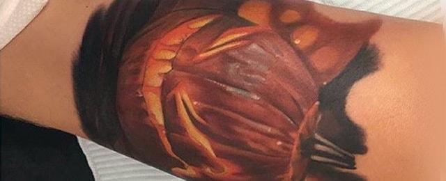 Pumpkin Tattoos For Men